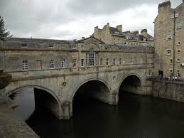 Bath's Pulteney Bridge, which crosses the River Avon, was designed by Robert Adam.