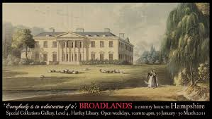 The 2nd Viscount Palmerston hired both Capability Brown and Robert Adam to beautify and modernize his Hampshire seat, Broadlands.