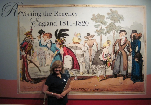 Cheryl Bolen toured the Regency Exhibit at California's Huntington Library in 2011, the two-hundredth anniversary of the beginning of the Regency.